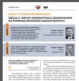 Improving of storage processes by warehouse automation (PL)