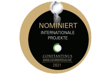 Nominacja do nagrody Constantinus w kategorii Projekty Międzynarodowe