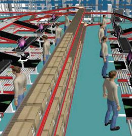 Warehouse automation as a means to improve efficiency in a company from the electrical-installation business area (PL)