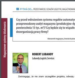 Czy przed wdrożeniem systemu automatyzacji należy przeprowadzić audyt logistyczny magazynu? (PL)