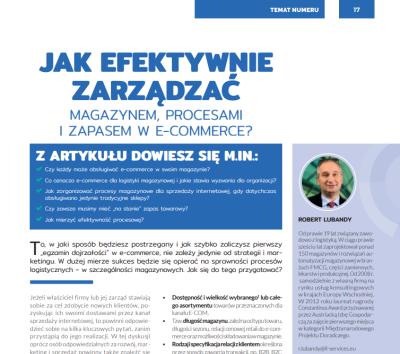 Wie sollen Warenlager, Prozesse und Vorräte im E-Commerce verwaltet werden um eine optimmale Effizienz zu erreichen? (PL)